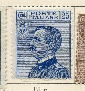 Italy 1906 Early Issue Fine Mint Hinged 25c. NW-07761