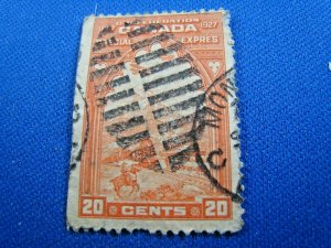 CANADA  1927  -  SCOTT # E3   USED