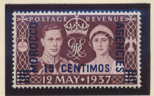 Great Britain, Offices In Morocco Stamp Scott #82, Mint Hinged - Free U.S. Sh...
