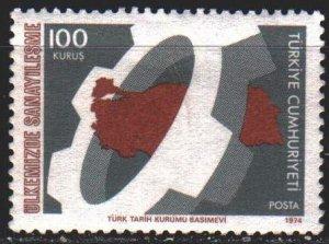 Turkey. 1974. 2343 from the series. Industrial development in Turkey. MVLH.