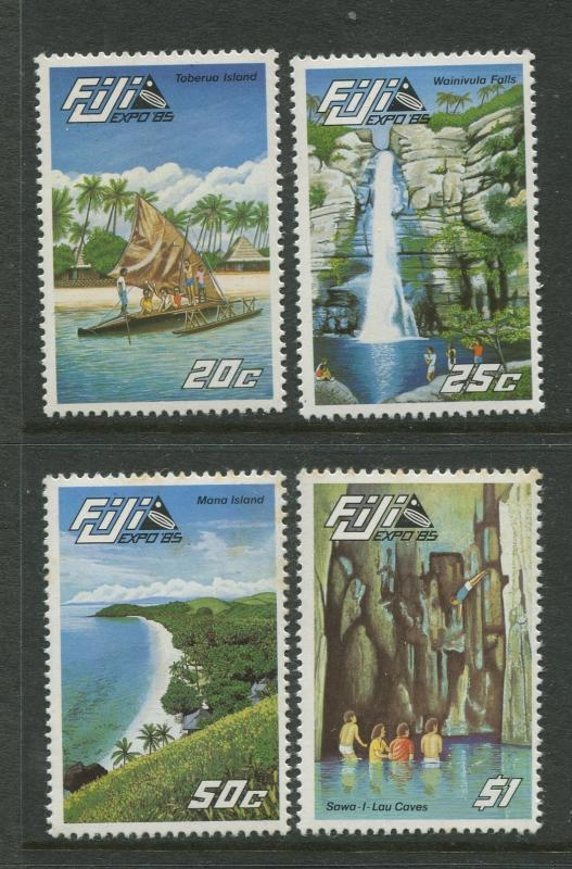 Fiji - Scott 527-530 - General Issue -1985 - MNH - Set of 4 Stamps