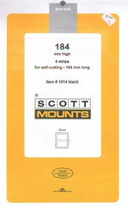 184 High X 184 Long 4 Scott  BLACK Mounts Small Panes, etc.