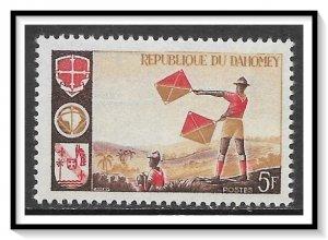 Dahomey #222 Boy Scouts MNH