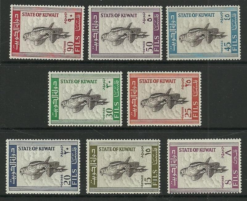 Kuwait  Lot # 17 Birds MNH = Collection lot Mostly MNH  sets -