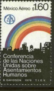 MEXICO C522, U.N. Conference on Human Settlements. MINT, NH. VF.