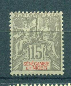 Senegambia & Niger sc# 6 mh cat value $14.50