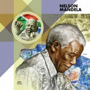 Z08 IMPERF TG190156b TOGO 2019 Nelson Mandela MNH ** Postfrisch