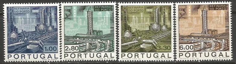 PORTUGAL 1064-66 MNH ENERGY Z286