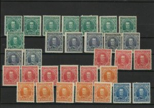 Venezuela 1904 Mounted Mint Stamps ref 22547