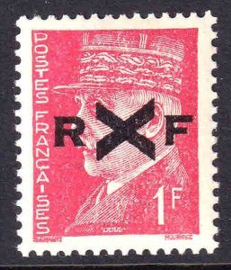 FRANCE 437 LOCAL MENTON LIBERATION OVERPRINT OG NH U/M VF