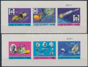 Paraguay stamp Space Research MNH Imperforated 1969 Mi 121 + 123 WS157289