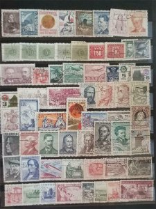 CZECHOSLOVAKIA Stamp Lot Used T1071