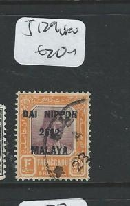 MALAYA JAPANESE OCCUPATION TRENGGANU (P2307B) 20C DN SG J129   VFU