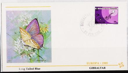 Gibraltar. 1994 FDC. 20p S.G.516. Fine Used