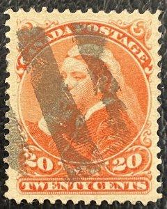 Canada #46 Used VF/XF - Queen Victoria 1888-97 [$058]
