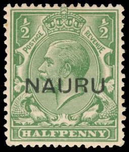 Nauru Scott 1b Gibbons 13 Mint Stamp