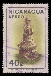 NICARAGUA  STAMP 1965. SCOTT # C570. USED