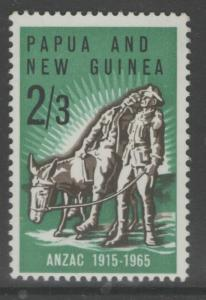 PAPUA NEW GUINEA SG76 1965 GALLIPOLI LANDING MNH