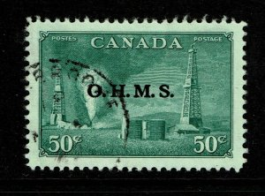 Canada SC# O11 Used / Very Well Centered - S11161