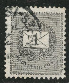 Hungary Scott 35A Used 1898 wmk 135
