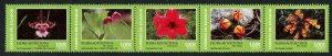 HERRICKSTAMP NEW ISSUES ECUADOR Sc.# 2186 Indigenous Flora Azuay