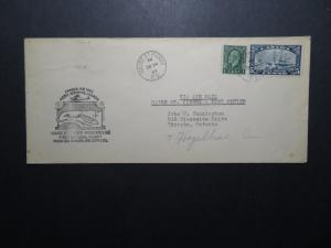 Canada 1933 Harve St Pierre to Port Menier First Flight Cover - Z11255