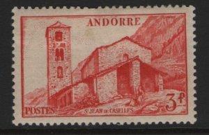 ANDORRA, 115, HINGED, 1939-51, ST JEAN DE CASELLES