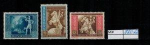 Deutschland Reich TR02 DR Mi 820-22 1939 Reich Postfrisch ** MNH
