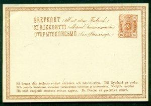 FINLAND Norma PK12 III, 16pen postal card, unused, VF, Norma $170.00
