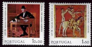 Portugal SC#1253-1254 Mint VF SCV$29.50...nice bargain!!
