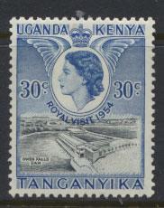 Kenya Uganda Tanganyika SG 166 Used