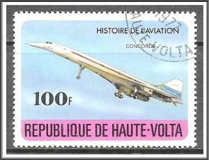 Upper Volta #466 History of Aviation CTO