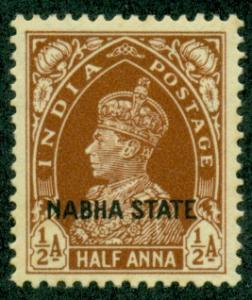 India Nabha #70  Mint VF LH   Scott $7.50