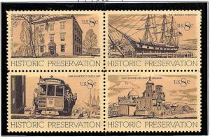 1443a Mint,OG,NH... Block of 4... SCV $1.00