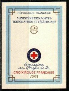 France Scott B282a Mint NH booklet (Catalog Value $85.00)