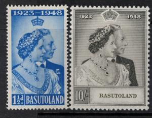 Basutoland 1948 SC 39-40 Mint Stamp SCV $52.80 Set