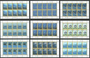 MV 2016 AITUTAKI NATIONAL GEOGRAPHIC FISH MARINE LIFE MICHEL 180€ 9SH 10SET MNH