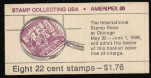Scott #BK 153 ....22 Cent ...Stamp Collecting. ...8 Stamps