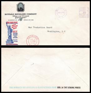 Goldpath: US Advertising Cover 1943. Buffalo, N.Y. _CV16_P5