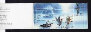 Finland   #921-925a  cancelled 1993  complete booklet  birds