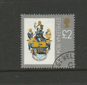 St Helena 1984 150th anniv Defs £2 VFU SG 435