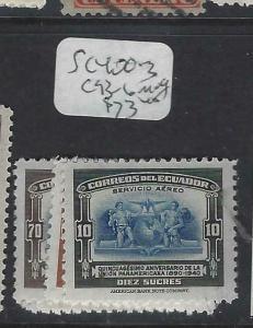 ECUADOR  (P0203B)    SC 400-3, C 93-6   MOG