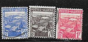 Algeria #132-134 (U) CV $0.90