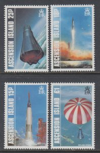 Ascension 420-423 Space MNH VF