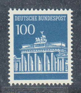 Germany,  100pf Brandenburg Gate (SC# 956) MNH