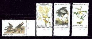 Barbados 665-68 MNH 1985 Birds