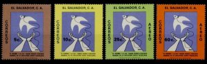 Salvador 933-4, C481-2 MNH Christmas, Dove