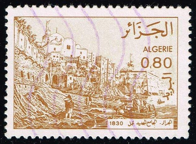 Algeria #687 Mosque; Used (0.25)