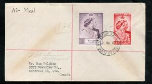 Pitcairn Islands #11 - #12 Very Fine Used On First Day Cover