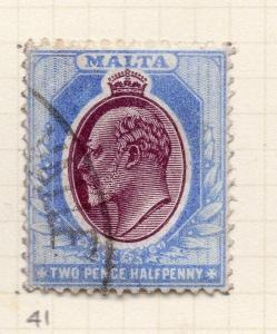 Malta 1903-04 Early Issue Fine Used 2.5d. 259515
